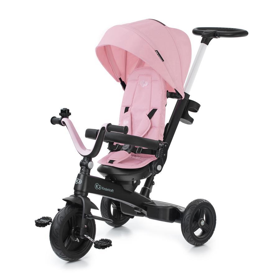Kinderkraft 5-in-1 Dreirad TWIPPER - pink