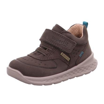 superfit Chaussures basses enfant scratch Breeze brun, largeur moyenne