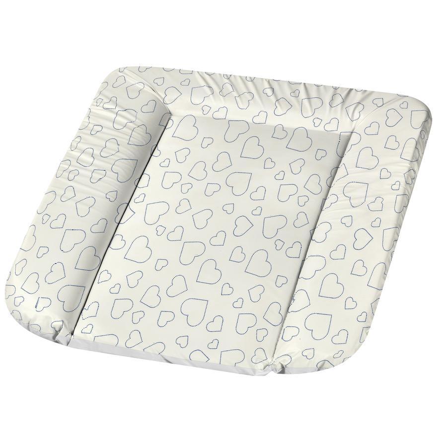 Alvi ® Fasciatoio Molly foil Heart s White 70 x 53 cm