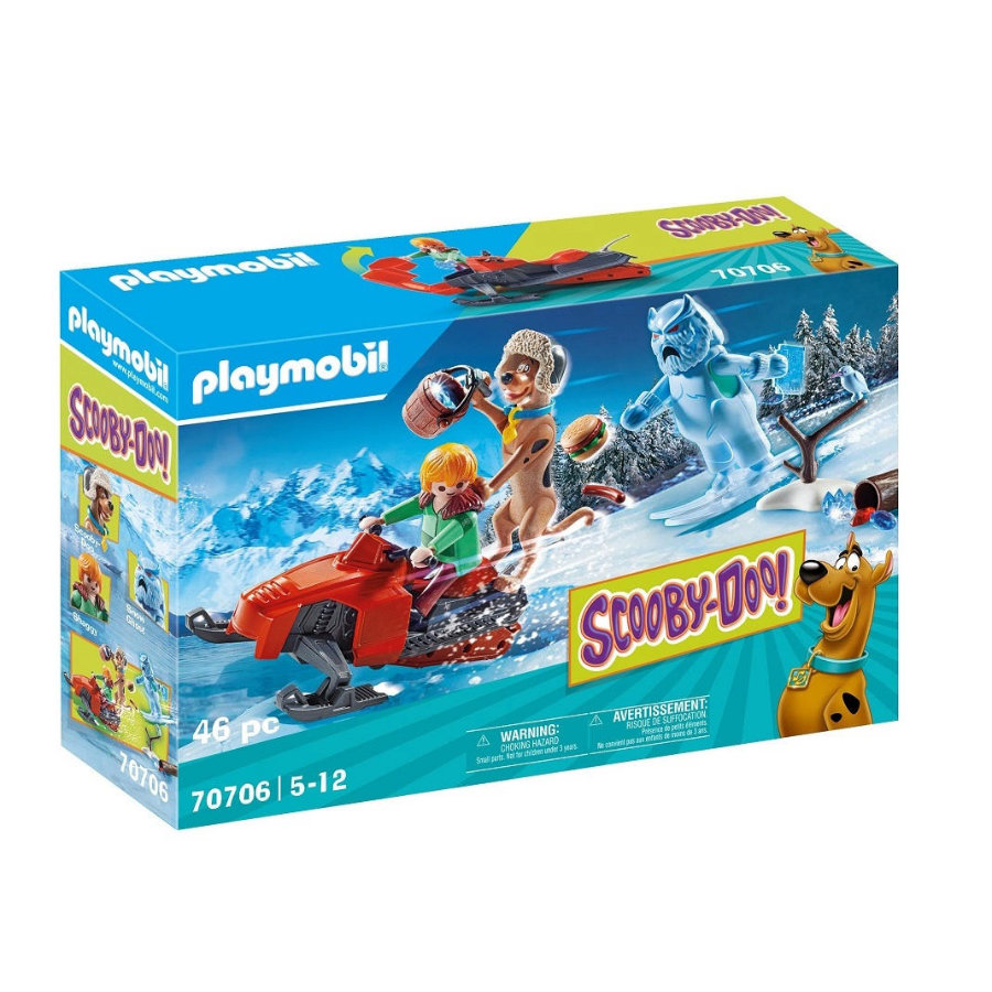 PLAYMOBIL® SCOOBY-DOO! Abenteuer mit Snow Ghost 70706