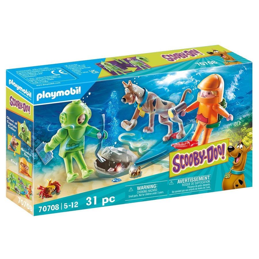 PLAYMOBIL  SCOOBY-DOO ! Aventure avec le plongeur fantôme 70708