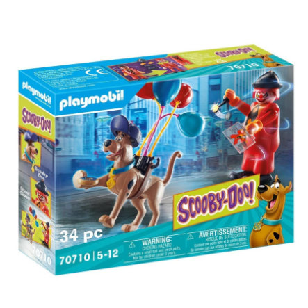 PLAYMOBIL  ® SCOOBY-DOO! Dobrodružství s duchem Clown 70710