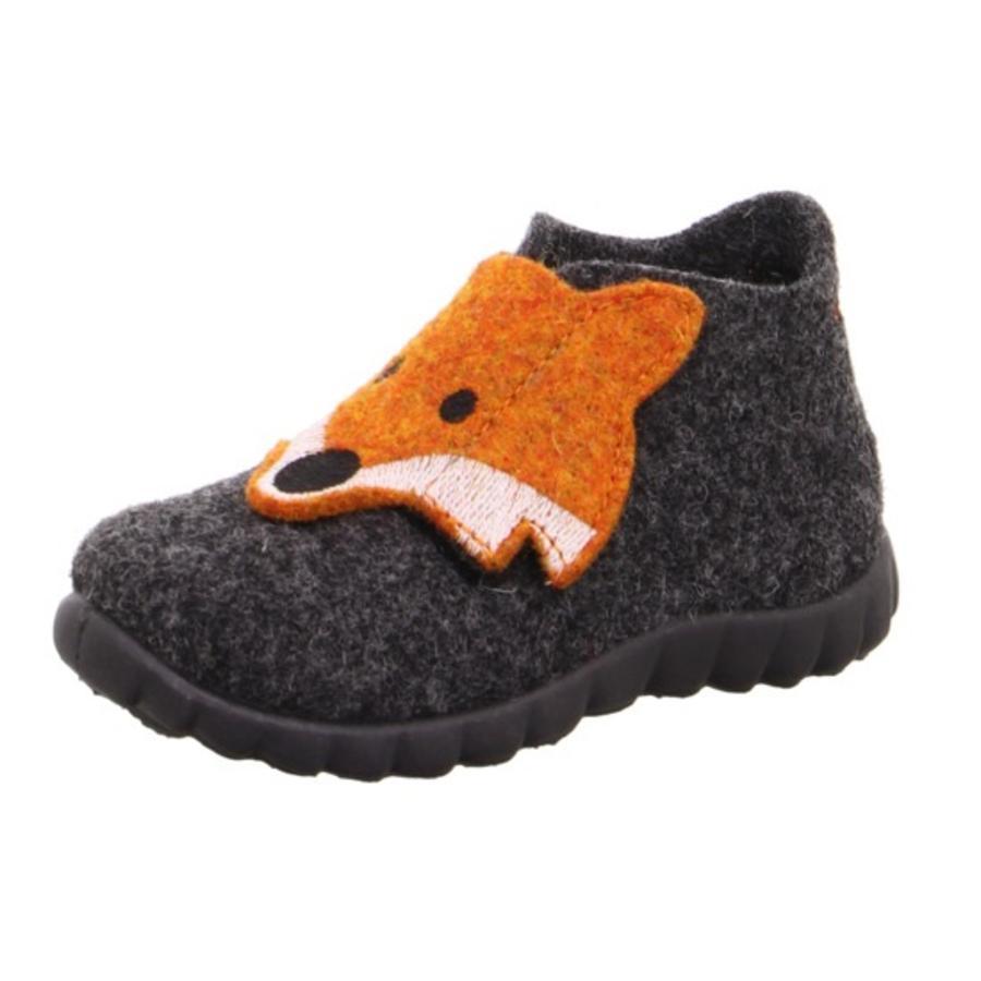 superfit Pantofle Happy lis antracyt