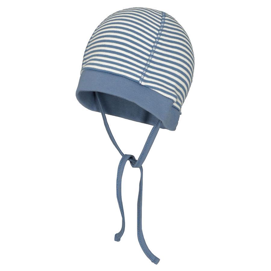 STACCATO Mütze jeans blue gestreift