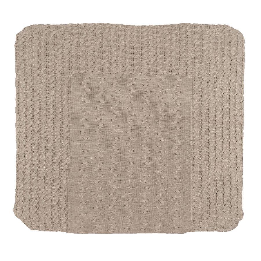 baby's only Funda para cambiador Cable beige 75x85 cm