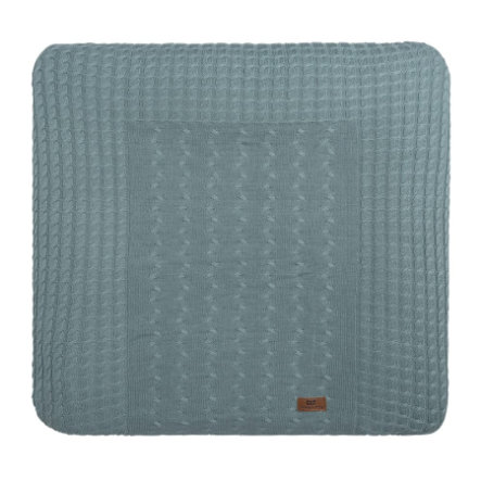 baby's only Wickelauflagenbezug Cable stonegreen 75x85 cm