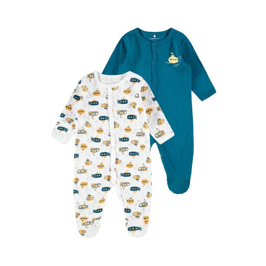 name it Combinaison pyjama enfant Legion Blue lot de 2