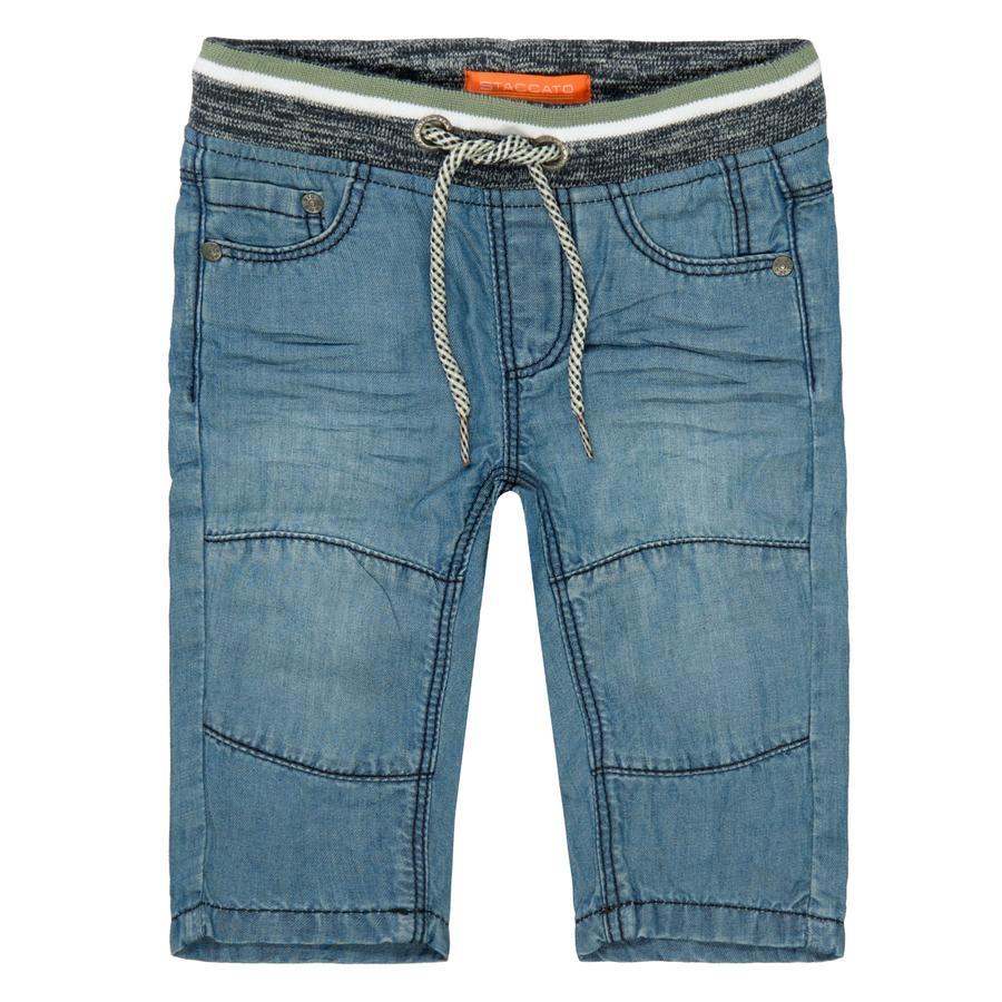 STACCATO Jeans midtblå denim