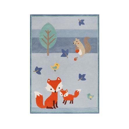Esprit Teppich E-Fox in the Wood blau
