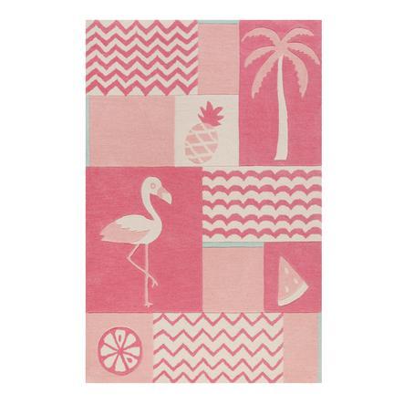 Smart Kids Teppich Fruity Flamingo pink