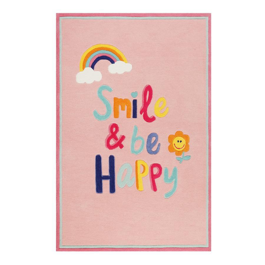 Smart Kids Teppich Happy me! hellblau