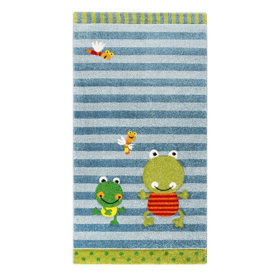 sigikid Teppich Crocodile Fortis Frog blau