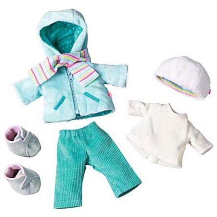 """HABA Set di vestitini """"Frida"""" per bambole di 30 cm"""