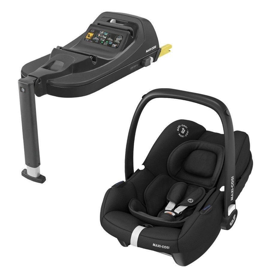 MAXI COSI Set Babyschale Tinca i-Size + Tinca Base Essential Black