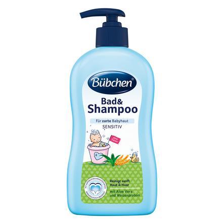 Bübchen Bad und Shampoo sensitiv 400 ml