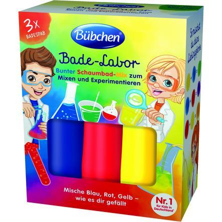Bübchen Schaumbad-Mix Kids Bade-Labor 3 x 50ml