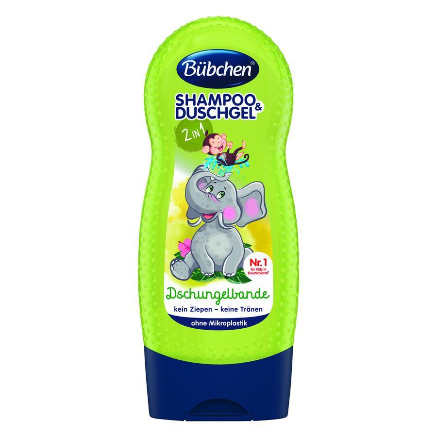 Bübchen Shampoo und Duschgel Dschungelbande 2in1 230ml
