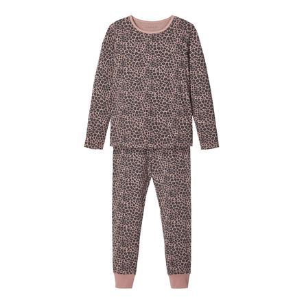 name it pyjamas 2-delt Nkf nattsett Woodrose