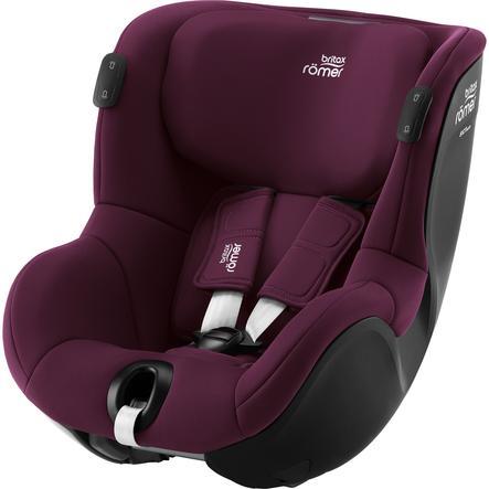 Britax Römer Kindersitz Dualfix iSENSE Burgundy Red