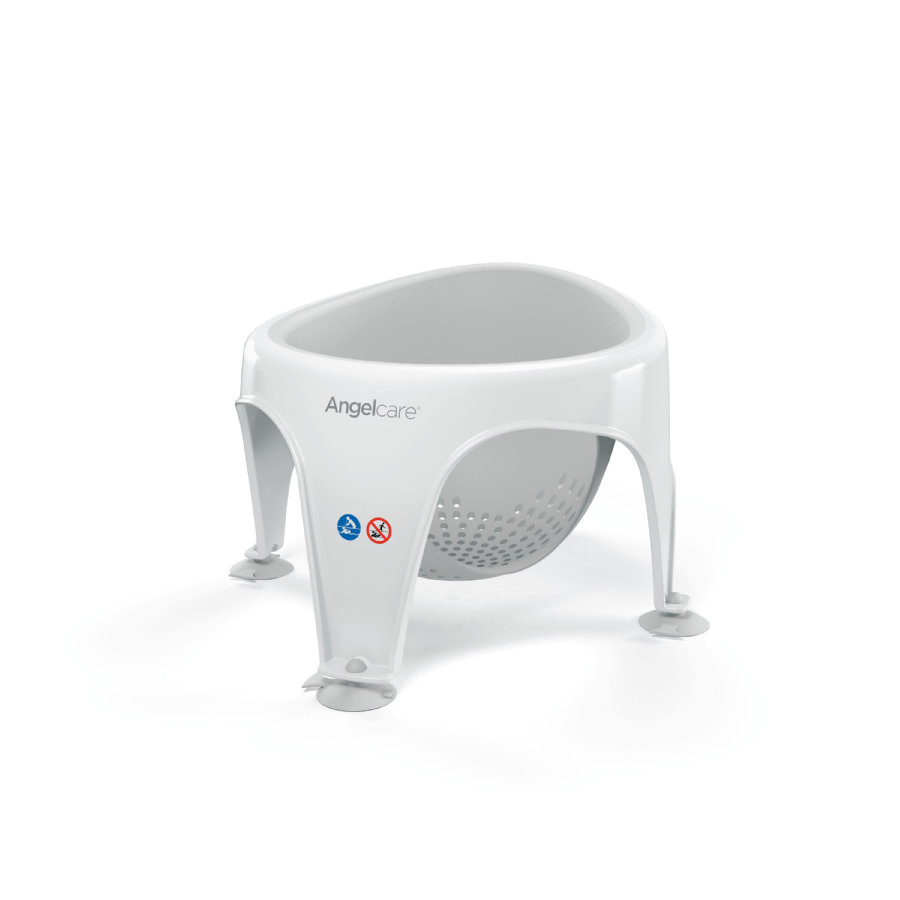 Angelcare® Badering Light grey für Babys von 6 - 12 Monaten