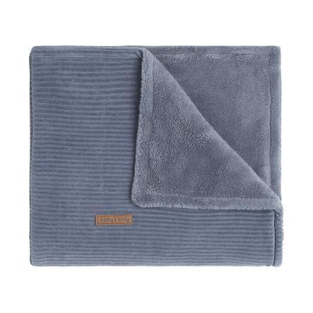 baby's only Plaid enfant doublure peluche Sense vintage blue 70x95 cm