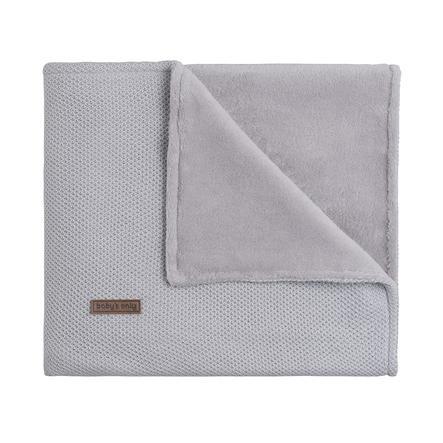 baby's only Dětská deka Teddy s podšívkou Class ic silver grey 70x95 cm