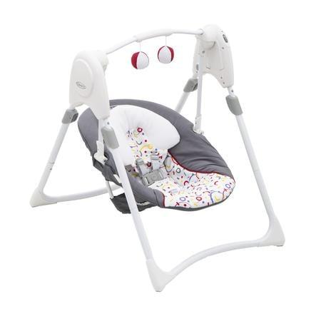 Graco ® Columpio para bebés Slim Space s™ confetti