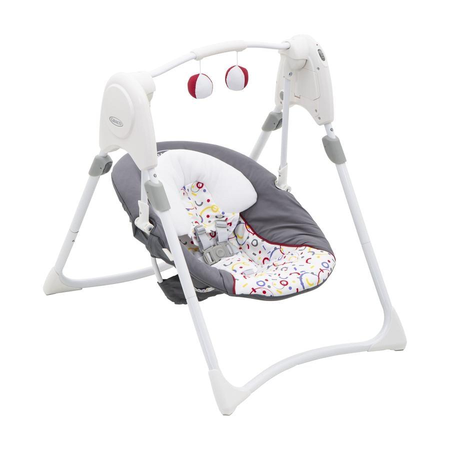 Graco® Babyschaukel Slim Spaces™ confetti