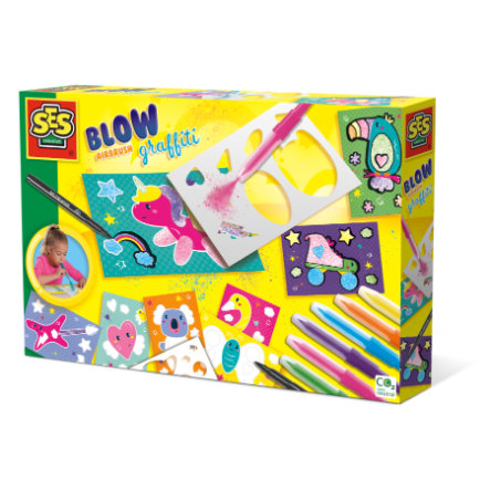 SES Creativ e® Blow airbrush Graffiti
