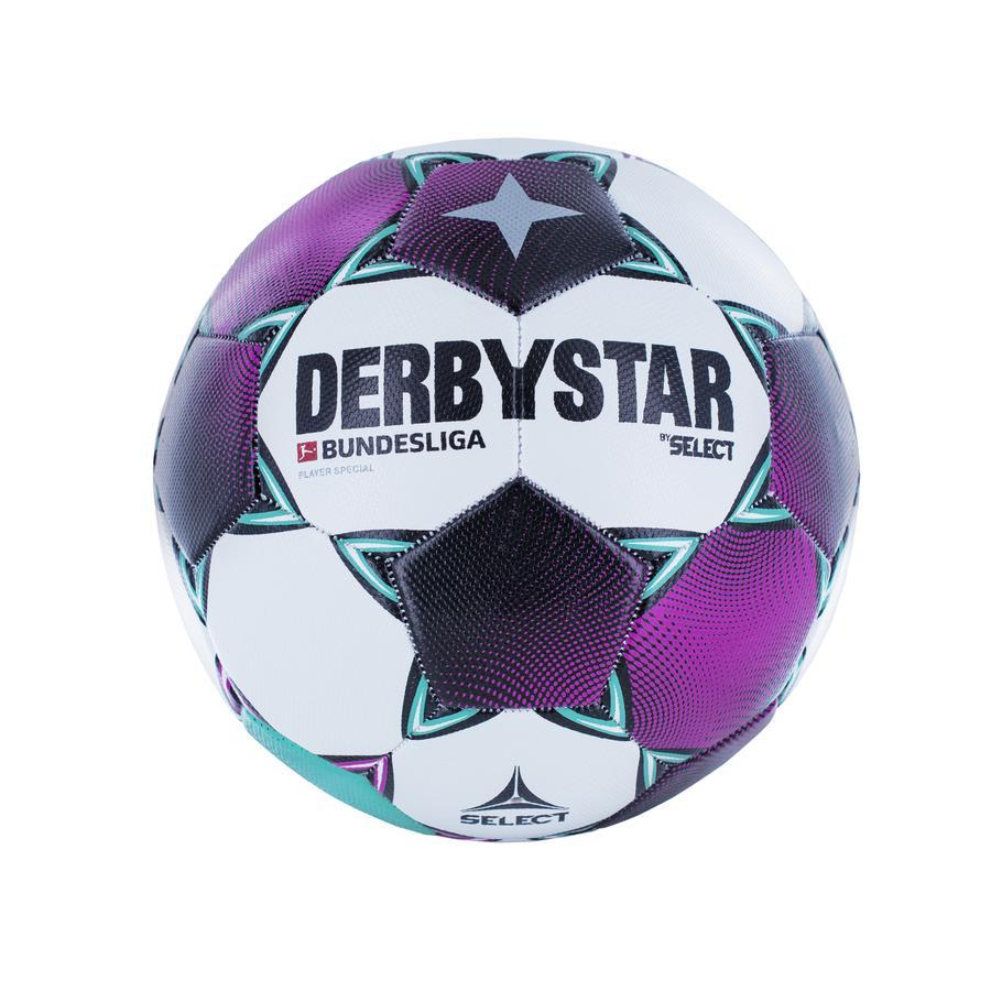 "XTREM Toys and Sports - Derbystar Fußball BUNDESLIGA ""Player Special"" Saison 20/21 lila & türkis"