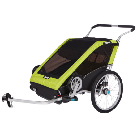 THULE Kinderfietskar Chariot Cheetah 2 Green