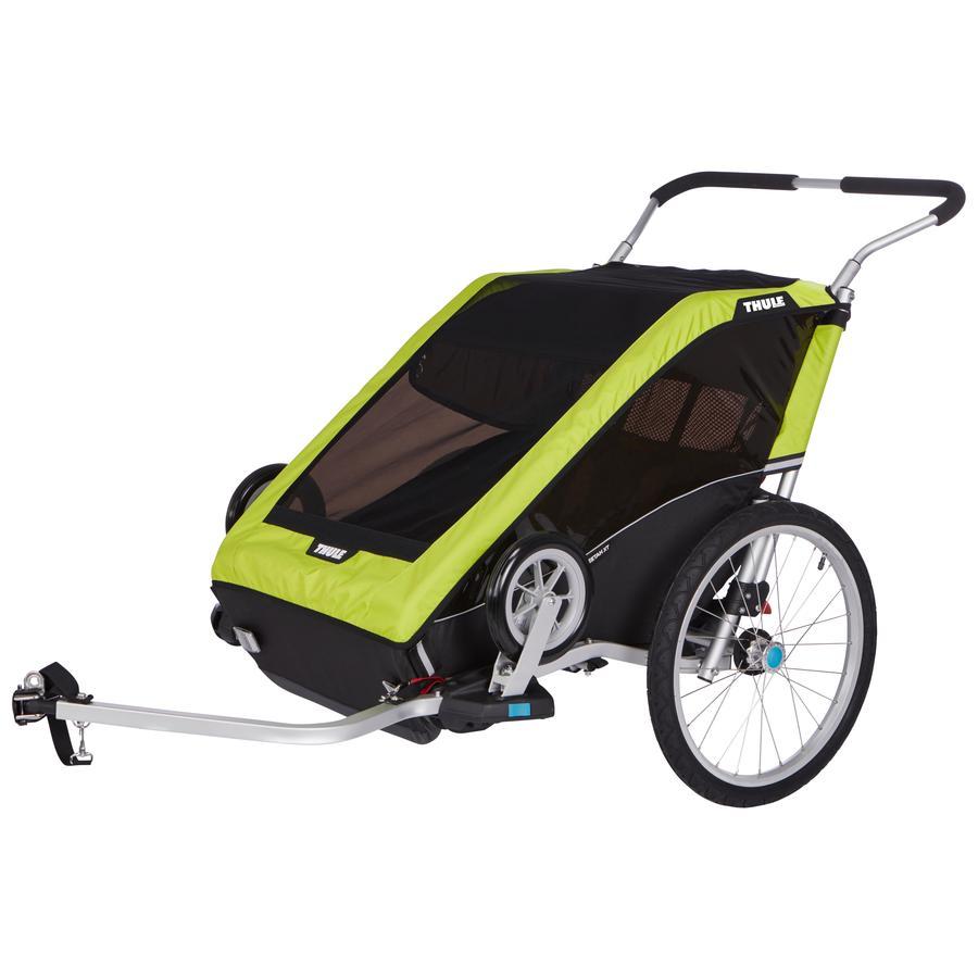THULE Lasten pyörävaunu Chariot Cheetah 2 Green