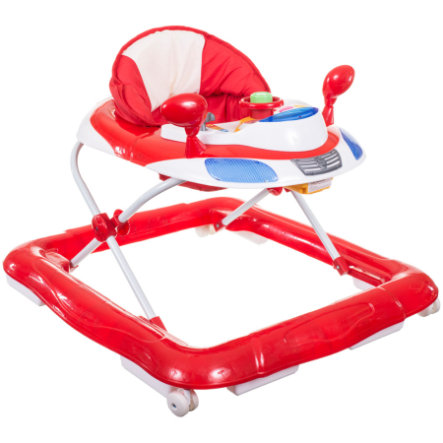 BIECO Walker and Activity Seat, red