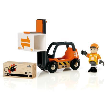 BRIO® WORLD Gabelstapler 33573