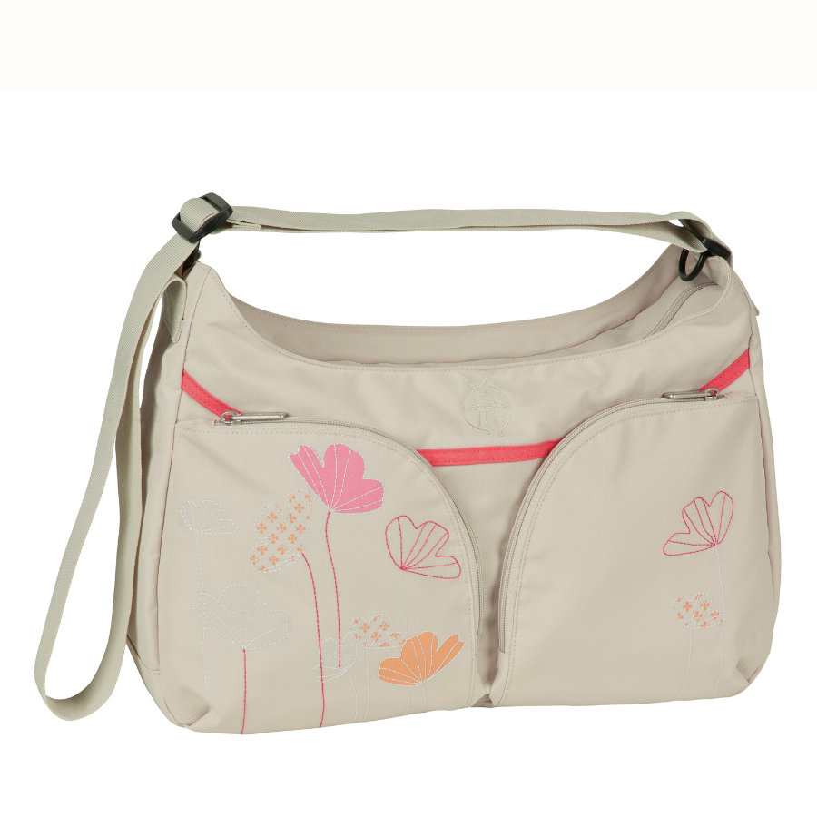 LÄSSIG Sac à langer Basic Shoulder Bag Poppy Sand