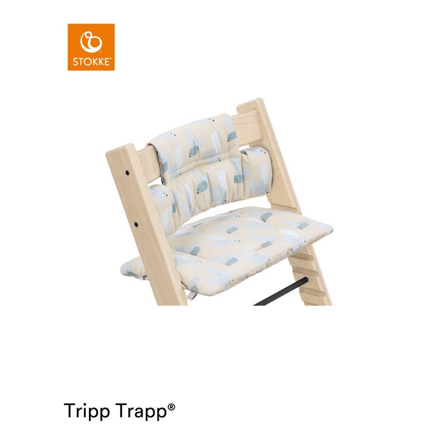STOKKE® Tripp Trapp® Classic Baby Sitzkissen Birds Blue