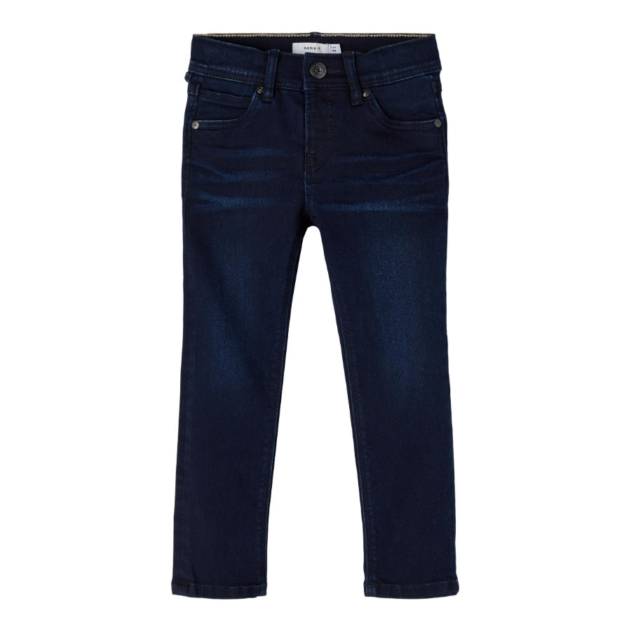 name it Jeans Nmmsilas Denim blu scuro