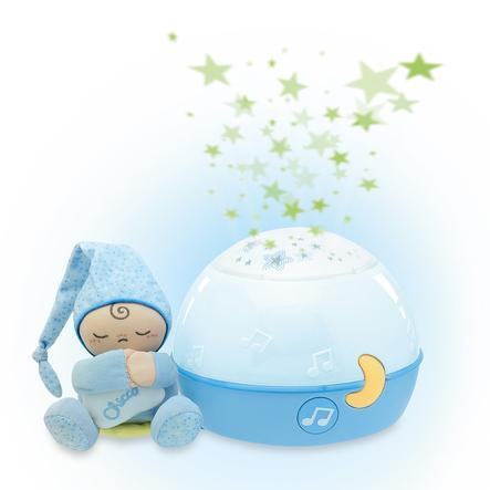 Lampička CHICCO hrající noční obloha, modrá