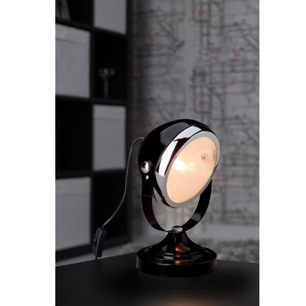 BRILLIANT Lampka na biurko - Rider E14 TL, kolor czarny