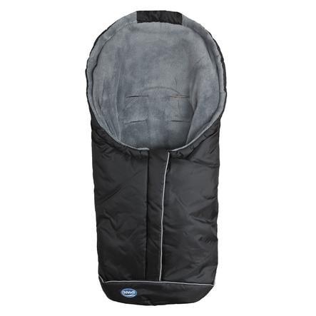 URRA Coprigambe a sacco Romer Standard, nero/grigio