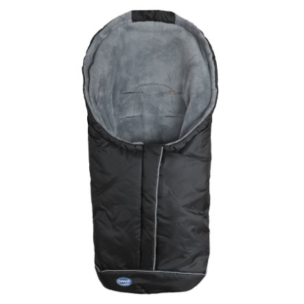 URRA Fußsack Standard klein schwarz/grau