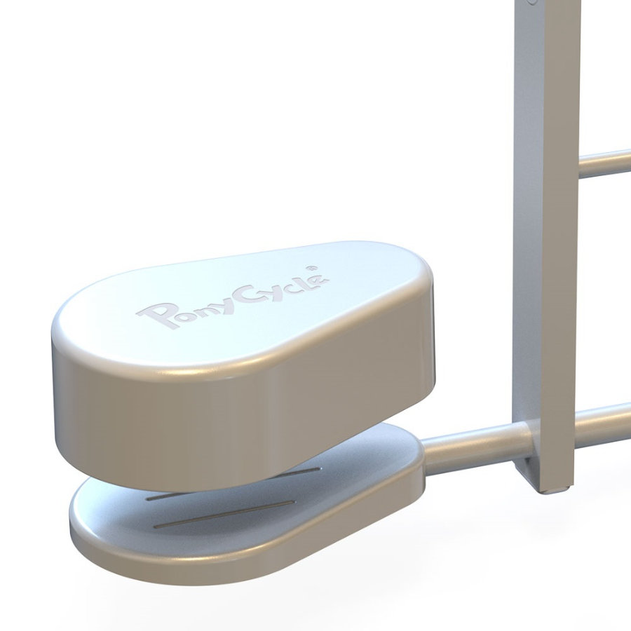 PonyCycle® Pedal Pads - Pedal Adapter für U-Types, weiß