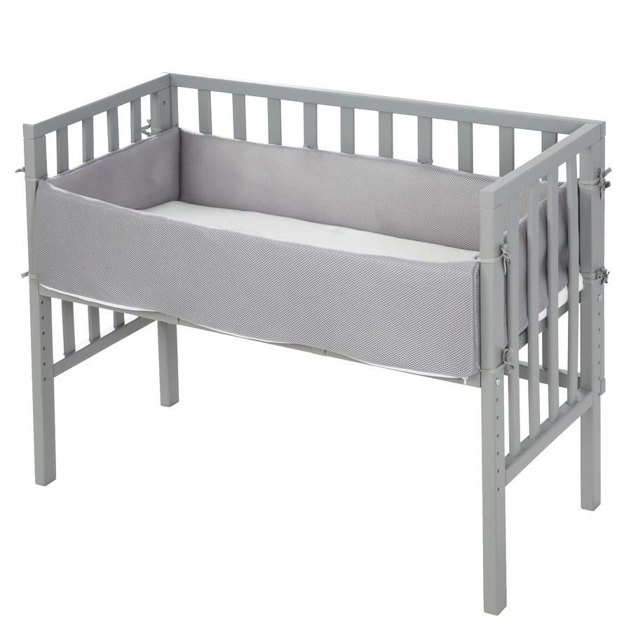 roba Lit cododo 2en1 safe asleep® bois taupe 45x90 cm