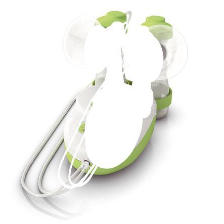 ARDO elektrische Doppelmilchpumpe Calypso Double Plus weiß/grün