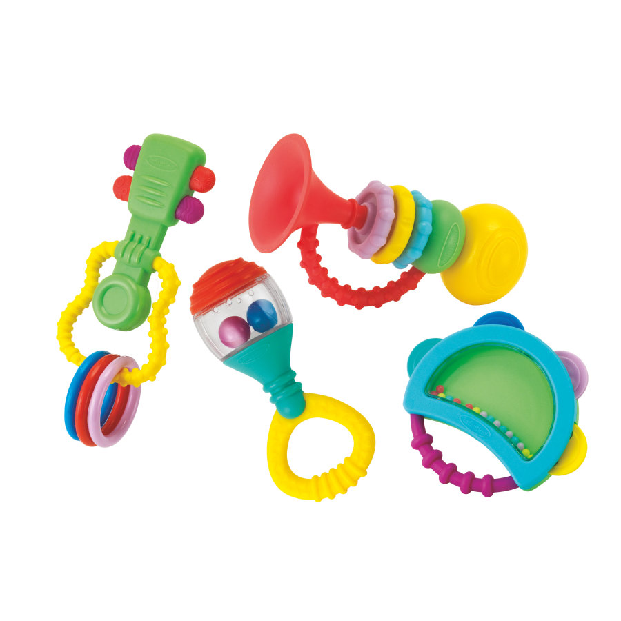 Infantino Musik Beißring Geschenk Set