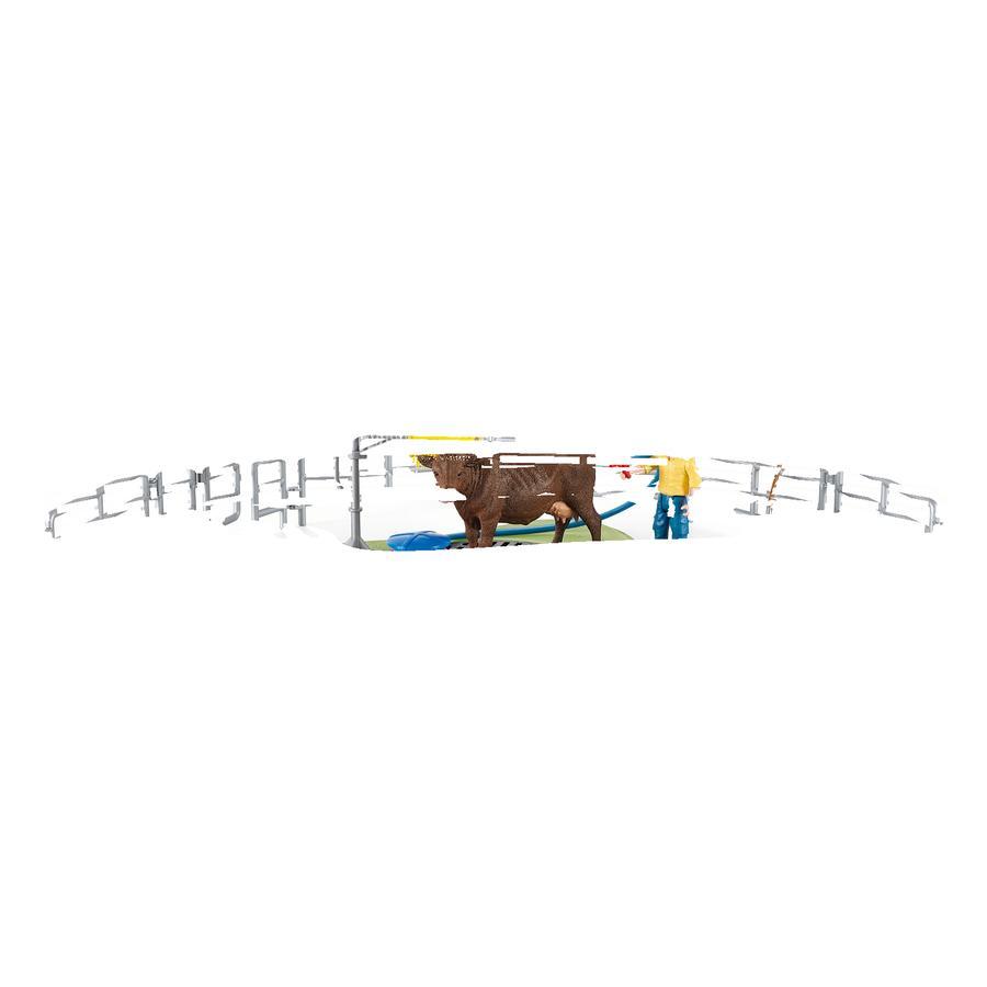 Schleich Farm World Kuh Waschstation 42529