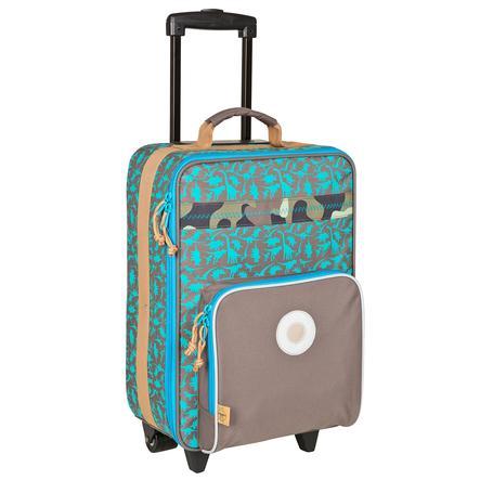 LÄSSIG Dětský kufr Trolley Dino slate
