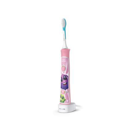 PHILIPS sonicare Elektrische Schallzahnbürste HX6352/42 For Kids in rosa