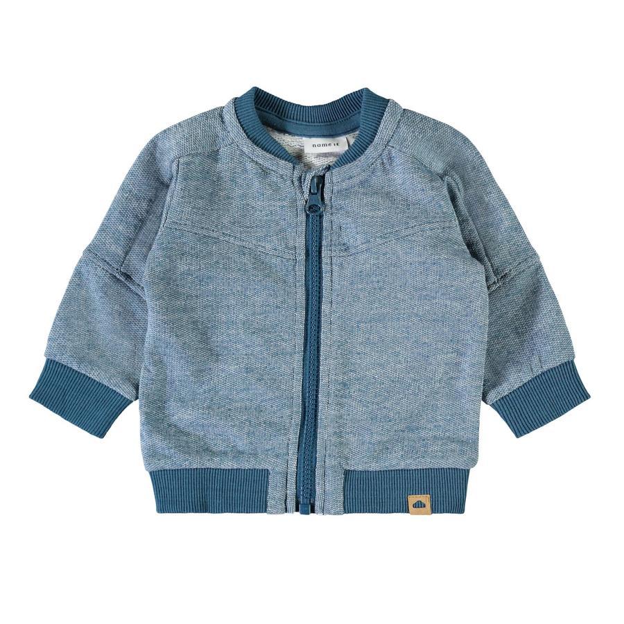 name it Sweat Jacket Nbmlauris Bleu Légion