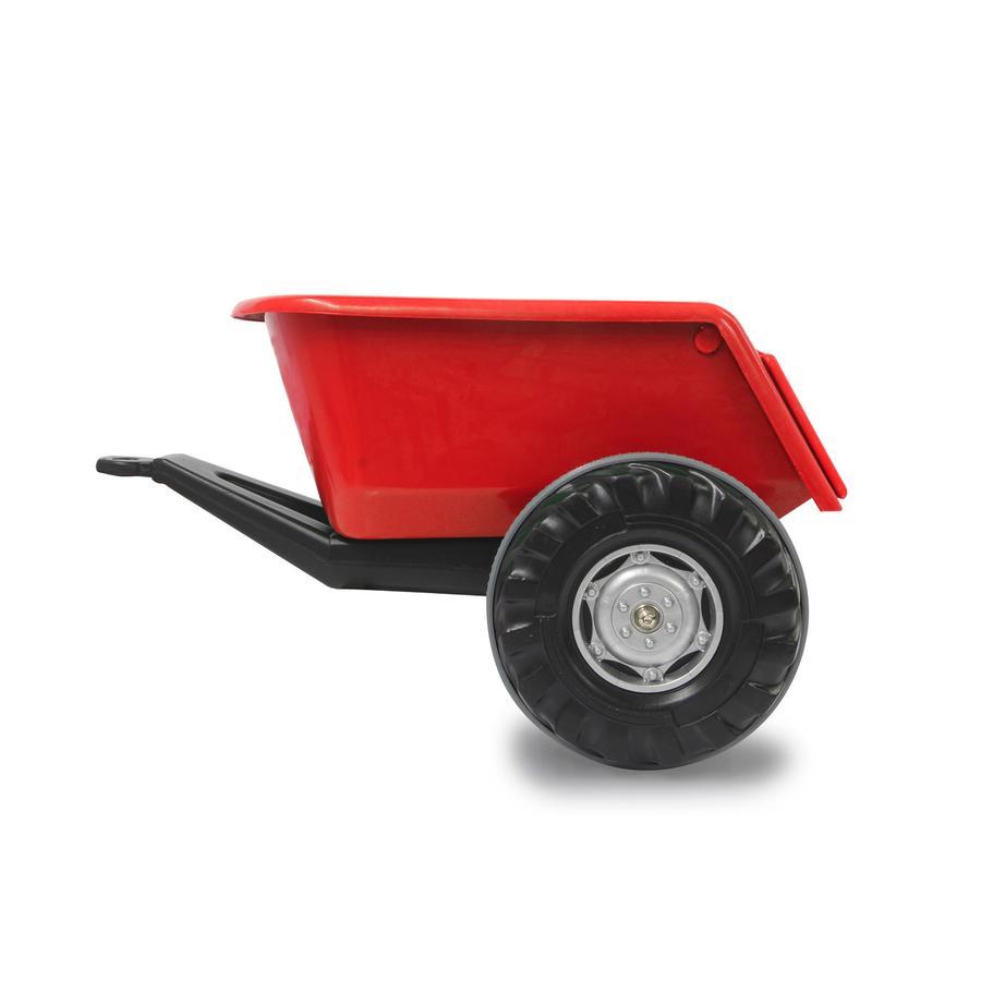 JAMARA Anhänger Ride-on für Traktor Power Drag/ Big Wheel, rot